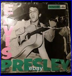 Elvis Presley Rock N Roll Clp1093 1st Uk 1956