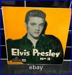 Elvis Presley Rock N Roll No 2 (hmv Clp 1105) Uk 1957