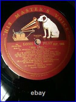 Elvis Presley Rock'n' Roll 1956 UK LP HMV 1st Press RARE