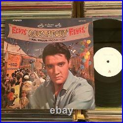 Elvis Presley Roustabout Japan Test Pressing Lp