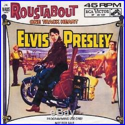 Elvis Presley Roustabout /One Track Heart RCA Victor SP-45-139 1964