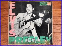 Elvis Presley S/T 1956 RCA LPM 1254 C German Military Issue Jacket/Vinyl G+
