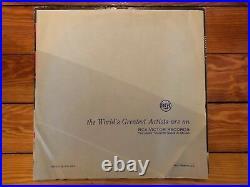 Elvis Presley S/T 1956 RCA LSP-1254 (e) Stereo RE Military Jacket VG Vinyl VG+
