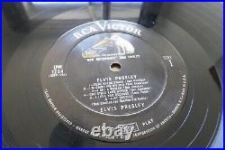 Elvis Presley S/T Debut US 1957 RCA Victor LPM 1254 Light Pink Rock N Roll LP