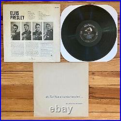 Elvis Presley S/T Self-Titled Debut 1st Album Original Mono 1956 OG Press VG/VG+