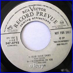 Elvis Presley S/t Epb-1254 Mint- Wl Promo