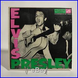 Elvis Presley S/t Rca Victor Lpm-1254 Mono Debut Album Rare Rock Rockabilly 1956