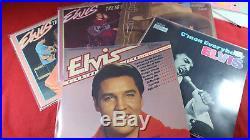 Elvis Presley SAMMLUNG / COLLECTION - 52 LP's
