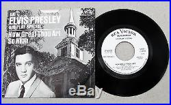 Elvis Presley SP-45-162 Org. 1S AIR PLAY SPECIAL Promo How Great Thou Art RARE