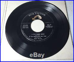 Elvis Presley SPD-22 Double EP 1956, EXTREMELY RARE, Single Record and Sleeve
