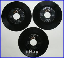 Elvis Presley SPD 23 Extended Play 45 Complete Three Record Set and Cover