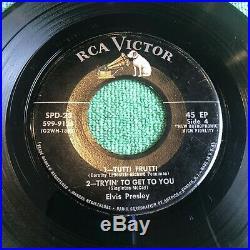 Elvis Presley SPD 23 Promo Only Holy Grail 1956 3 45rpm EP Set Very Nice