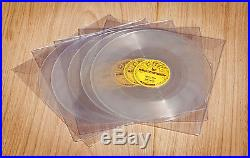 Elvis Presley SUN 10 (inch) 78 RPM singles CRYSTAL-CLEAR vinyl ULTRA RARE
