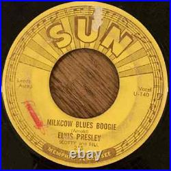 Elvis Presley SUN 215 Milkcow Blues Boogie with Push Marks