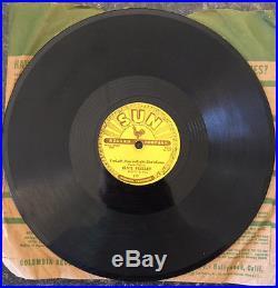 Elvis Presley SUN 78 Baby Let's Play House/I'm Left. 217 Memphis, TN