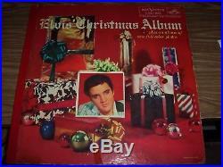 Elvis Presley Scarce Original Christmas Album Loc 1035 Near Mint From 1957