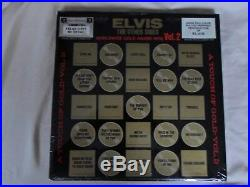 Elvis Presley Sealed 4 Lp Box Set Clothing Swatch & Poster The Other Sides Vol. 2