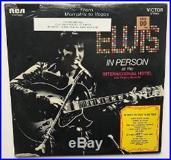 Elvis Presley- Sealed Mega Rare In Person With 100% Original Bonus Photo Sticker