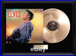 Elvis Presley Second Album Framed Lp Gold Metalized Record Vinyl Non Riaa