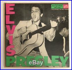 Elvis Presley Self Titled 1956 US Mono Deep Groove High Fidel LPM-1254 VG++