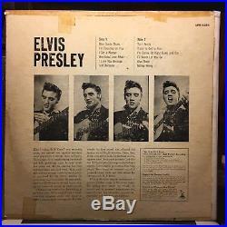 Elvis Presley Self Titled Debut 1956 1st Press Play Graded V=VG+ / C=VG (T1)