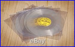 Elvis Presley Set=all 5 Sun10 Clear Vinyl 78 RPM Singles 2017 Reprosnew