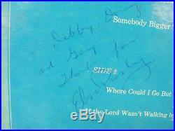 Elvis Presley Signed Record Album