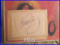 Elvis Presley Signed Record LP Elvis Golden Records