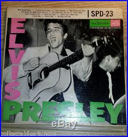 Elvis Presley- Spd-23 Triple Pocket E. P. Super Rare Promo. Rockabilly 1956