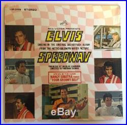 Elvis Presley Speedway Factory SEALED 1968 US Stereo 1st Press LSP-3989