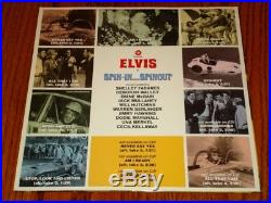 Elvis Presley Spin-in Spinout 10-inch Record Rare