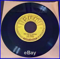 Elvis Presley Sun 209 That's All Right Original Mint (m) Unplayed 45