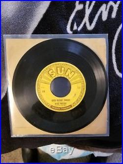 Elvis Presley Sun 210 Good Rockin' Tonight RARE Mis Print Label VG+/VG