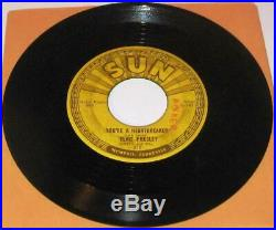 Elvis Presley Sun 215 Milk Cow Boogie Original 1955 Rockabilly 45 RPM Solid Copy