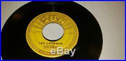 Elvis Presley Sun 215 Youre a Heartbreaker, Milkcow Blues 45 True Original