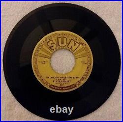 Elvis Presley Sun-217 45 Baby Lets Play House Original Pressing