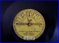 Elvis Presley Sun #217 78rpm