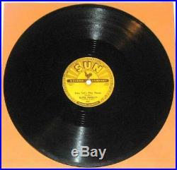 Elvis Presley Sun 217 Baby Let's Play House Original 1955 78 RPM Record
