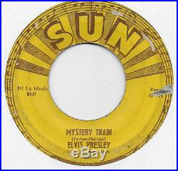 Elvis Presley Sun 45 #223, Mystery Train, I Forgot to Remember to Forget