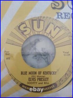Elvis Presley Sun 45 Misprint 209 That's All Right / Blue Moon of Kentucky