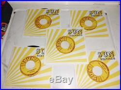 Elvis Presley Sun 45 Recods Reissue Mint Unplayed