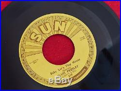 Elvis Presley Sun 45 five record 217 Lets Play House-Your Right Shes Gone 1955
