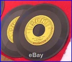 Elvis Presley Sun 45 five record set 1954 1955 records 209 210 215 217 223 NR