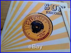 Elvis Presley Sun 5 x Singles 1 x EP Box Set NEAR MINT Vinyl Record ELVIS 101