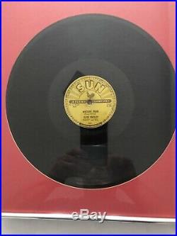 Elvis Presley Sun 78s Original Set Of 4