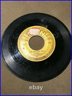Elvis Presley Sun Label 217 I'm Left, You're Right, She's Gone 45