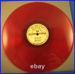 Elvis Presley Sun Record 78 Colored Vinyl Set 5 Records Bootleg/Reissue 1970s