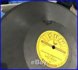 Elvis Presley Sun Records #217 Baby Lets Play House/I'm left, You're Right, She