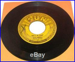 Elvis Presley Sun Records 45 rpm Original 5 Record Set 209 210 215 217 223