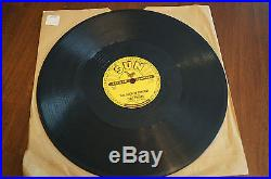 Elvis Presley Sun Records Blue Moon of Kentucky/That's All Right 78 RPM Original